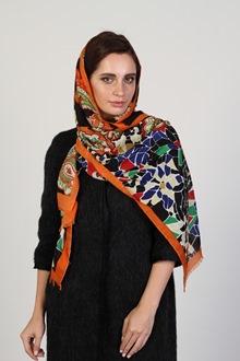 Фуляр - платок из мягкой шелковой ткани