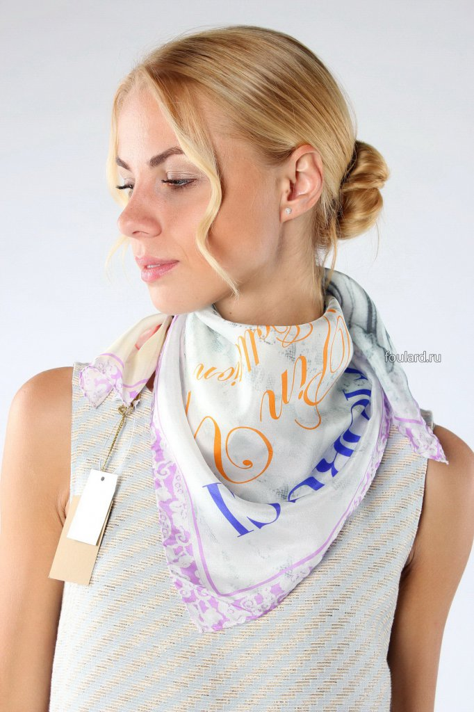 562cef98ea69 Модные аксессуары: платки и шарфы на весну 2016 года. - интернет ...